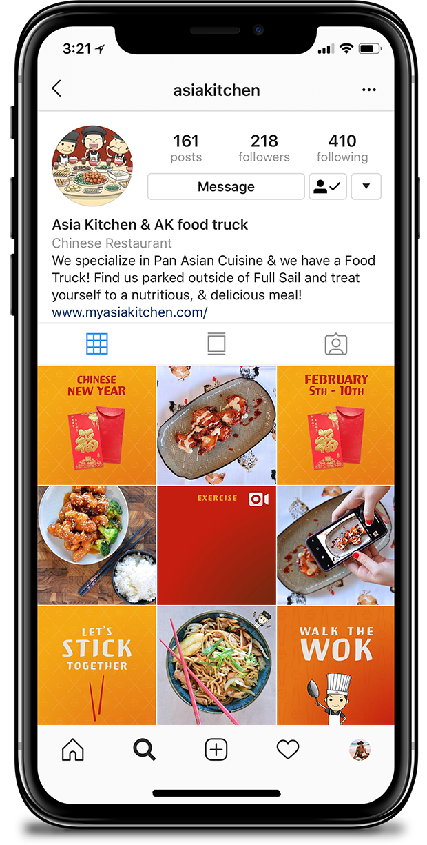 Asia Kitchen Instagram